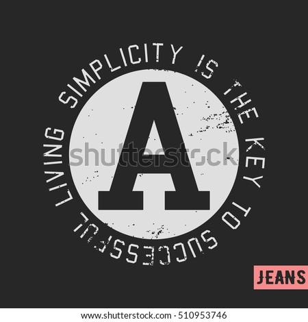 Tshirt print design quote vintage stamp stock vector 510953746 t shirt print design quote vintage stamp printing and badge applique label t urtaz Gallery