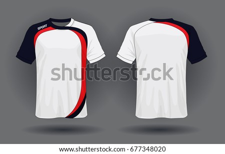 Sports shirt stock images royalty free images vectors for Design t shirt sport