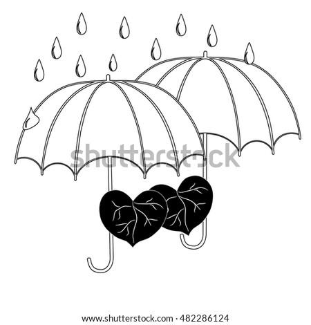 Design Love Umbrella Banco De Imagens, Fotos E Vetores Livres De