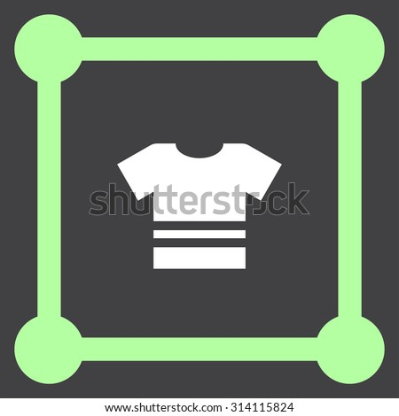t shirt vector icon