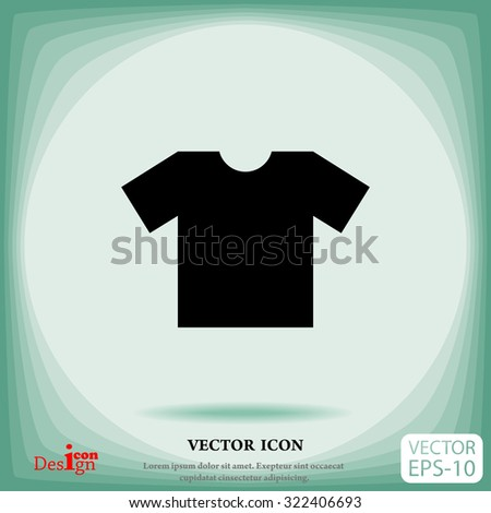 t-shirt vector icon