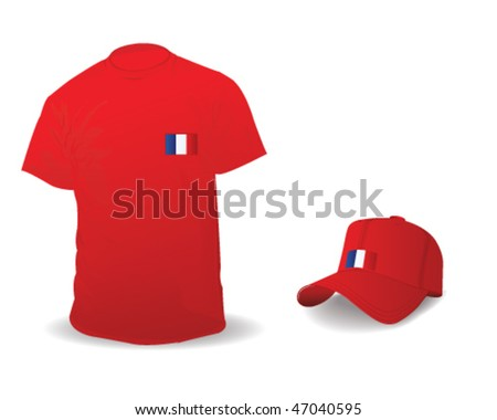 T shirt with France symbol