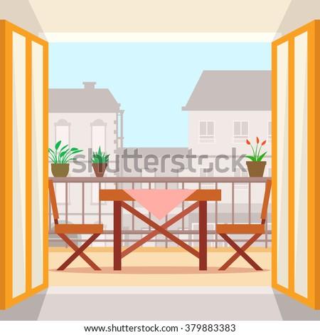 Elvetica 39 s portfolio on shutterstock for Balcony vector