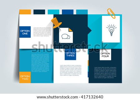 Table, schedule, box chart. Infographics element. - stock vector