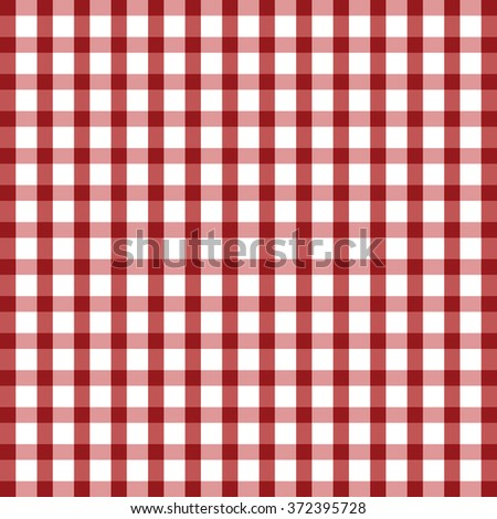 tablecloth illustration in red and white color