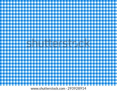 Tablecloth seamless pattern blue vector illustration