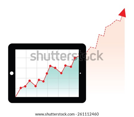 tablet forecast graph