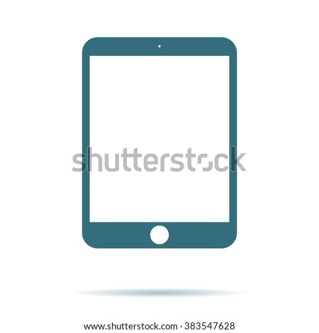 Tablet icon. Tablet vector icon, Tablet icon illustration, Tablet icon eps. Tablet icon flat. Tablet icon object. Tablet icon image. Tablet icon jpg Tablet icon pictogram. Tablet icon art stock vector - stock vector