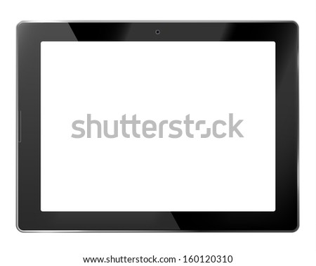 Tablet PC - eps10 - stock vector