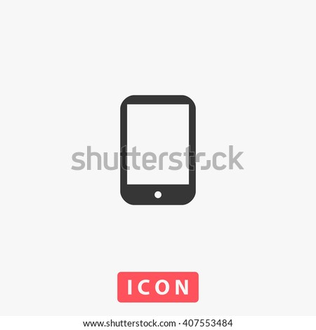 tablet PC Icon.  - stock vector