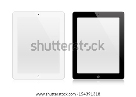 Tablets In New Style - stock vector