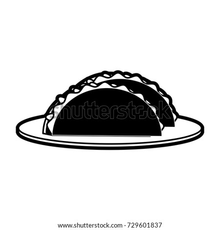 tacos food mexican culture related icon image