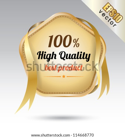Tag high Quality, can use for your business concept, education banner, brochure object. - stock vector