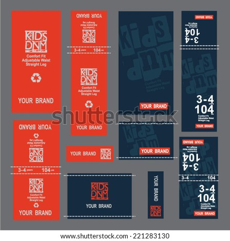 tags,Retro labels. Vintage labels collection. Premium Quality Guarantee vintage styled signs set.  - stock vector
