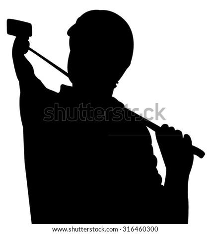 taking selfie, silhouette vector