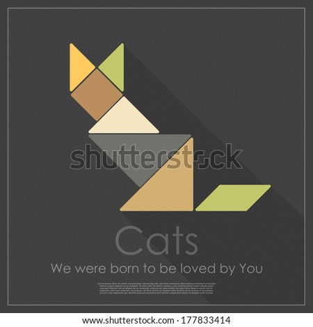 Tangram Animals Stock Photos, Images, & Pictures | Shutterstock