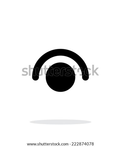 Tap gesture abstract icon. Vector illustration. - stock vector