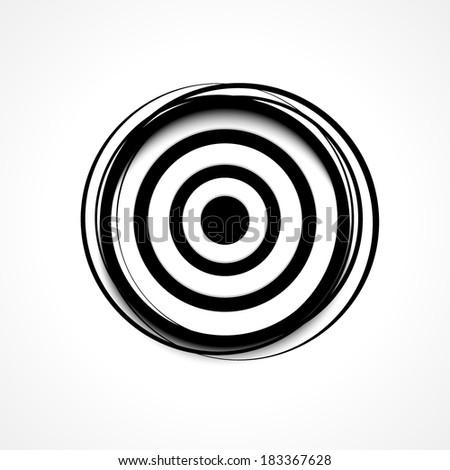 Target | Aim icon - stock vector