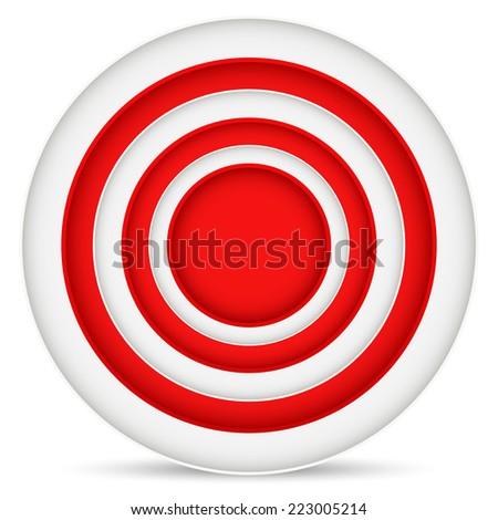 Target graphics - stock vector