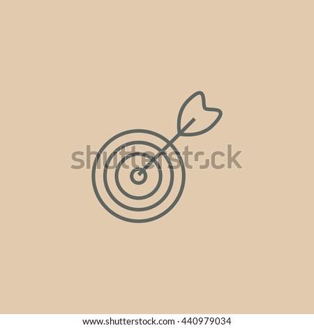 Target icon, target icon eps 10, target icon vector, target icon illustration, target icon jpg, target icon picture, target icon flat, target icon design, target icon web, target icon art, - stock vector