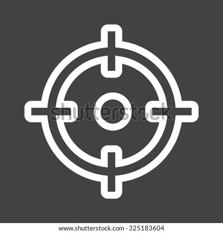 Target, market, aim icon vector image. Can also be used for SEO, digital marketing, technology. Suitable for web apps, mobile apps and print media. - stock vector