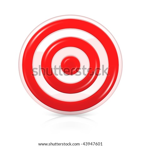 Target, mesh - stock vector