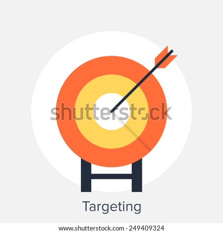 Targeting - stock vector