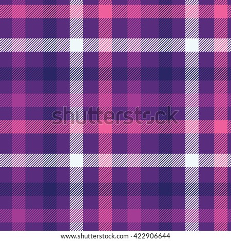 Tartan pattern. Scottish traditional fabric seamless vector. Bright background. Suitable for children, decoration paper, home, design, concept, clothing, handicraft & scrap booking.
