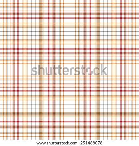 Tartan traditional checkered british fabric seamless pattern - stock vector