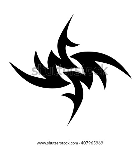 Tattoo Art Designs Ideas Tribal Tattoos Stock Vector 407965969 ...