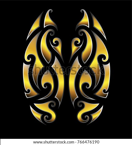 Maori stock images royalty free images vectors for Vector tattoo sleeve