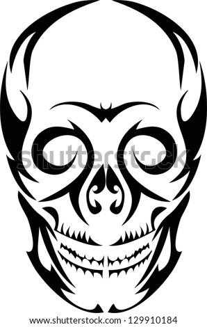 Tattoo skulls. - stock vector