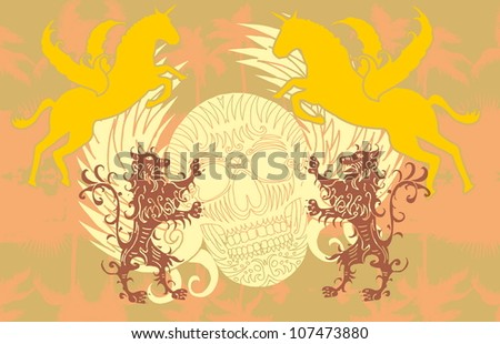 tattoo tribal - stock vector