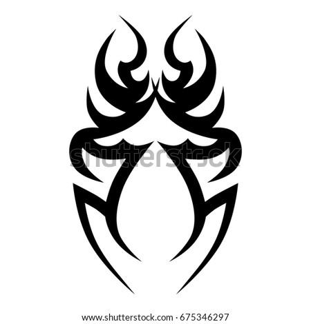 Maori tribal tattoo stockk pek jogd jmentes fot k s for Vector tattoo sleeve