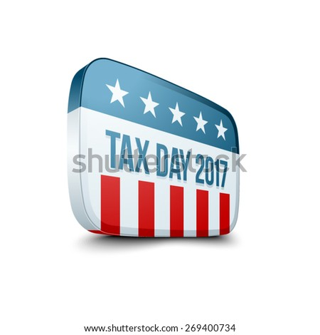 Tax Day 2017 sign