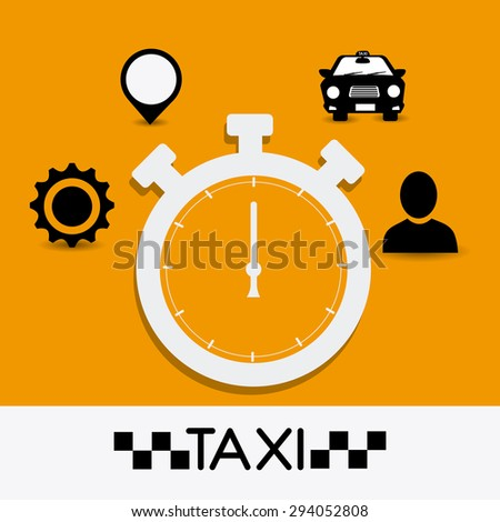 Taxi cab services design, vector illustratiob eps 10.