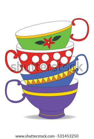 Vintage Tea Cup Stock Images, Royalty-Free Images ...