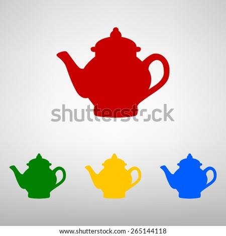 Tea maker. Vector illustration - stock vector