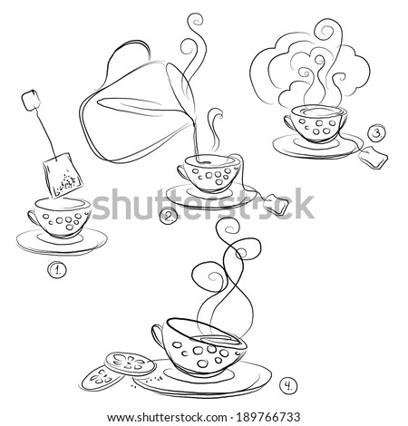 how to make a cup of tea instructions for children