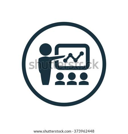 teacher Icon Vector. teacher Icon Art. teacher Icon Picture. teacher Icon Image. teacher Icon logo. teacher Icon Sign. teacher Icon Flat. teacher Icon design, on white background - stock vector