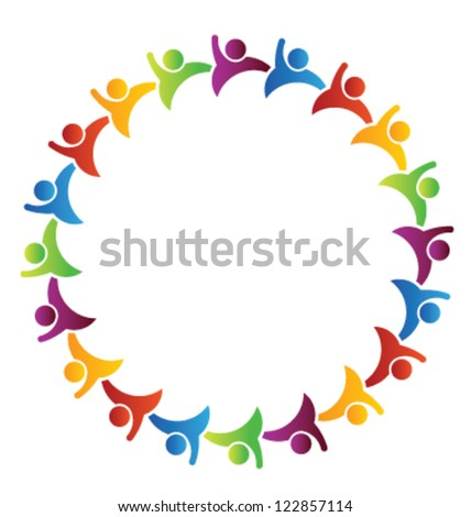 Team Group of people - stock vector