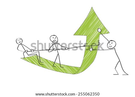 Team Success - stock vector