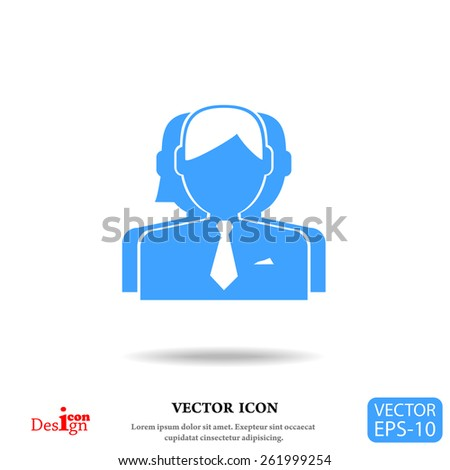 team work vector icon - stock vector