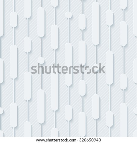 Tech seamless pattern. 3d seamless background. Vector EPS10. - stock vector