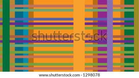 Techno Weave - stock vector