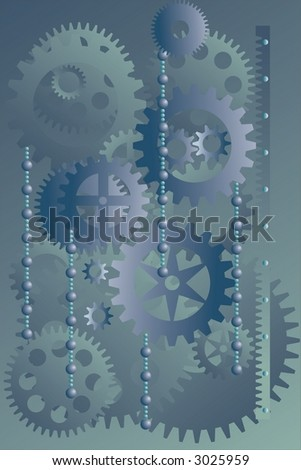 technology - stock vector