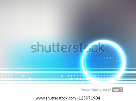 Technology abstract background, stylish graphic design template, hi tech elements