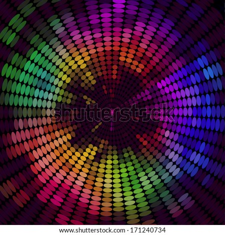 Technology concept abstract dotted background design.