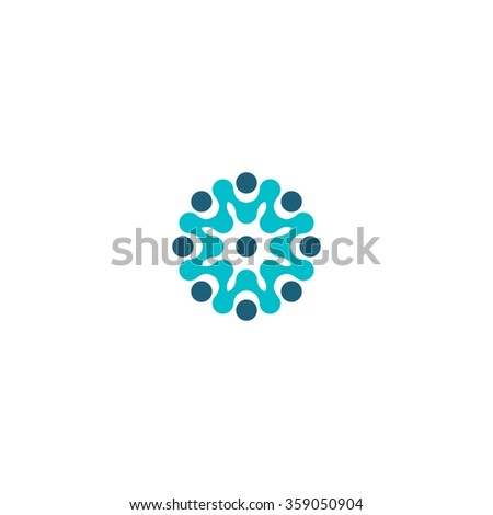 Technology Logo template - stock vector
