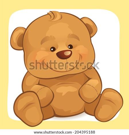 Teddy Bear - stock vector